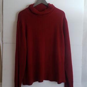Torrid 4X cowl neck red sweater